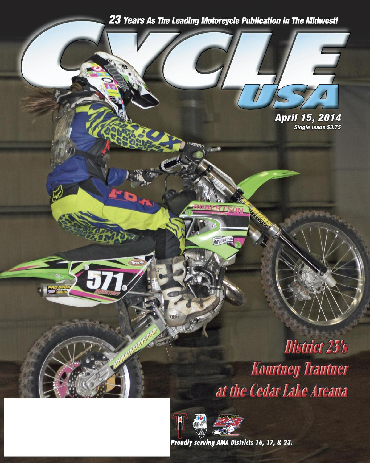 Cycle USA Apr  2014 by Cycle USA - issuu