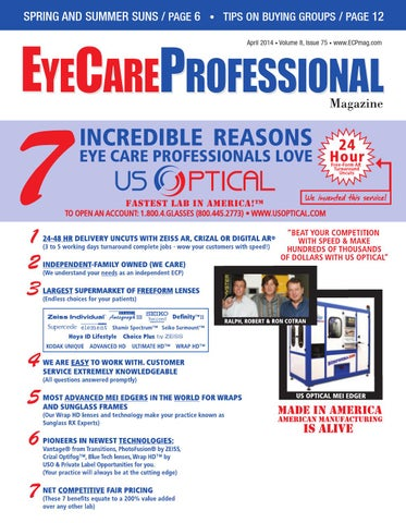 0b30f6ab0e EyeCare Professional Magazine April 2014 Issue by ECP Magazine - issuu