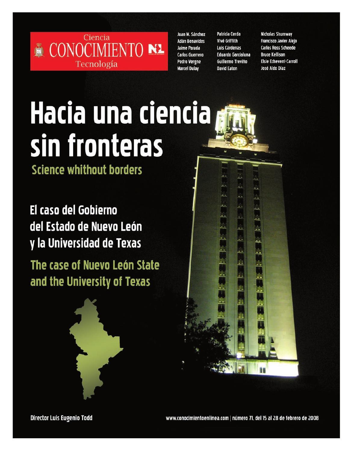 Revista Conocimiento 71 by Rodrigo Soto Moreno - issuu