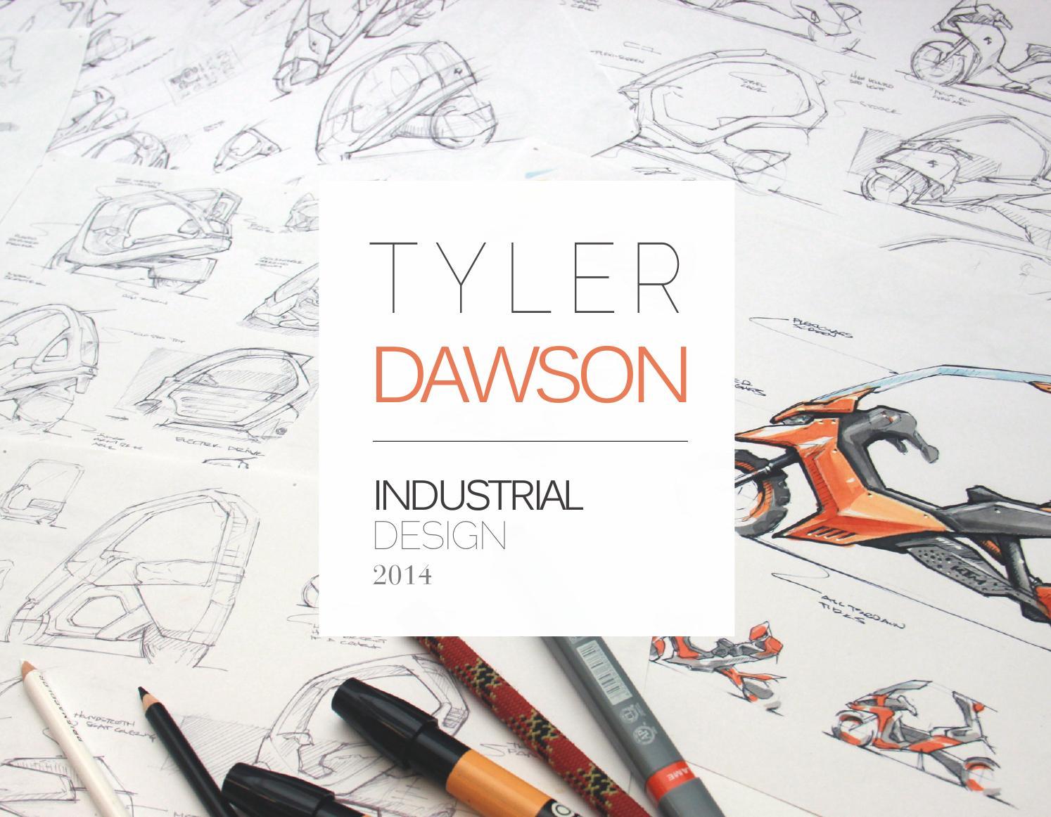 Bien-aimé Tyler Dawson - Industrial Design Portfolio 2014 by Tyler Dawson  TE01