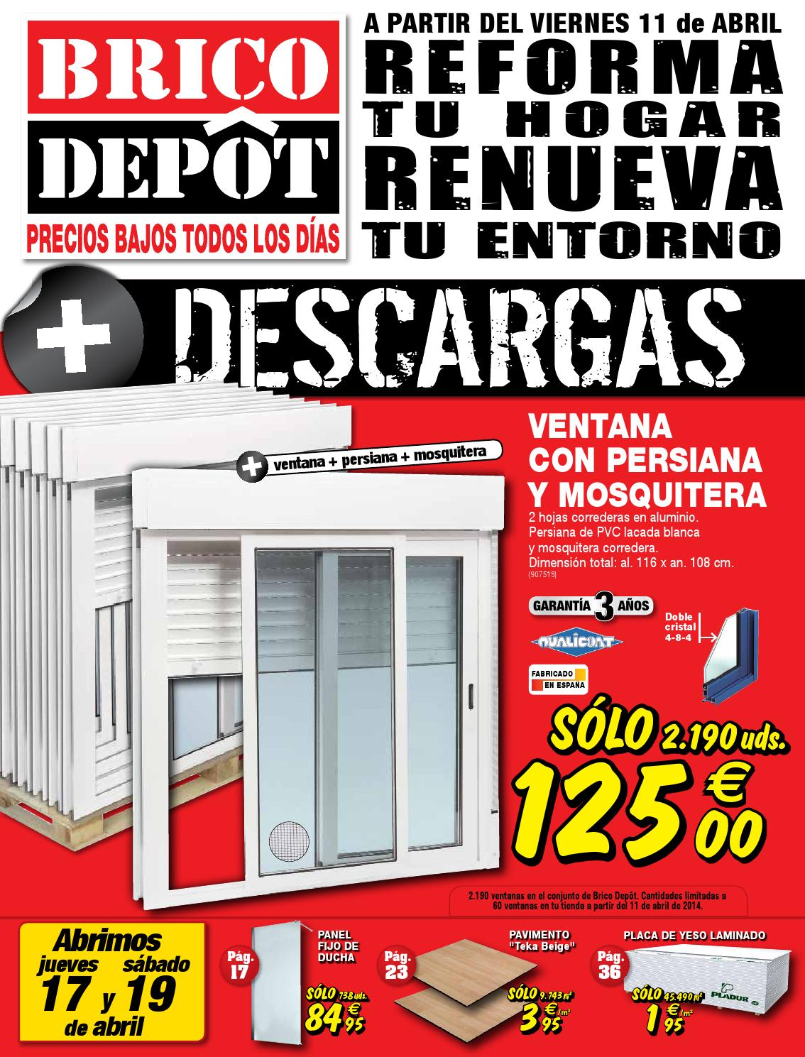 Bricodepot catalogue 11 24abril2014 by catalogopromociones - Estores bricomart ...