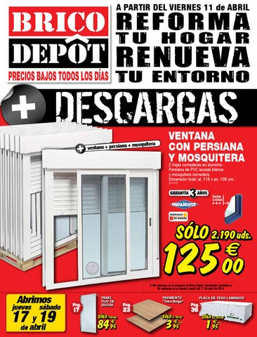 bricodepot catalogue 11 24abril2014 by issuu. Black Bedroom Furniture Sets. Home Design Ideas