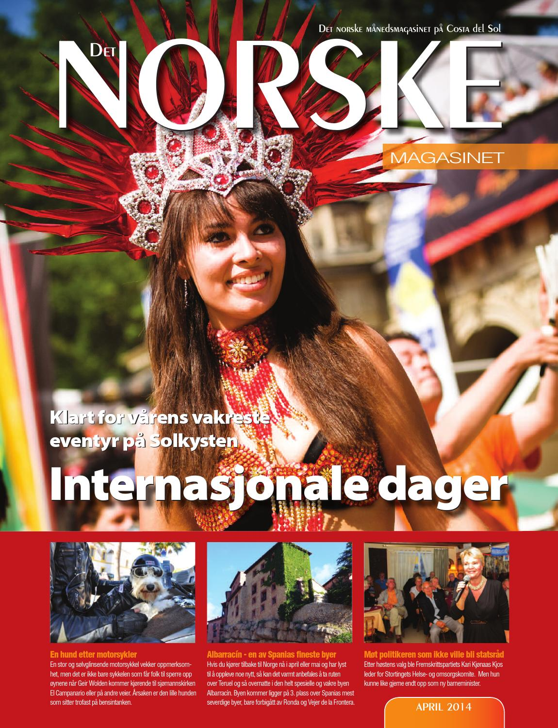 b43ed988 Det Norske Magasinet april 2014 by Norrbom Marketing - issuu