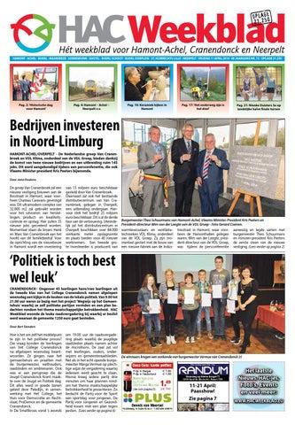 hac weekblad week 15 2014 by hac weekblad issuu