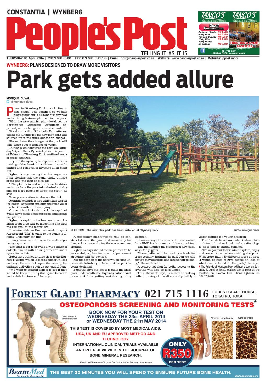 Peoples post constantia 10 apr 2014 by People's Post - issuu