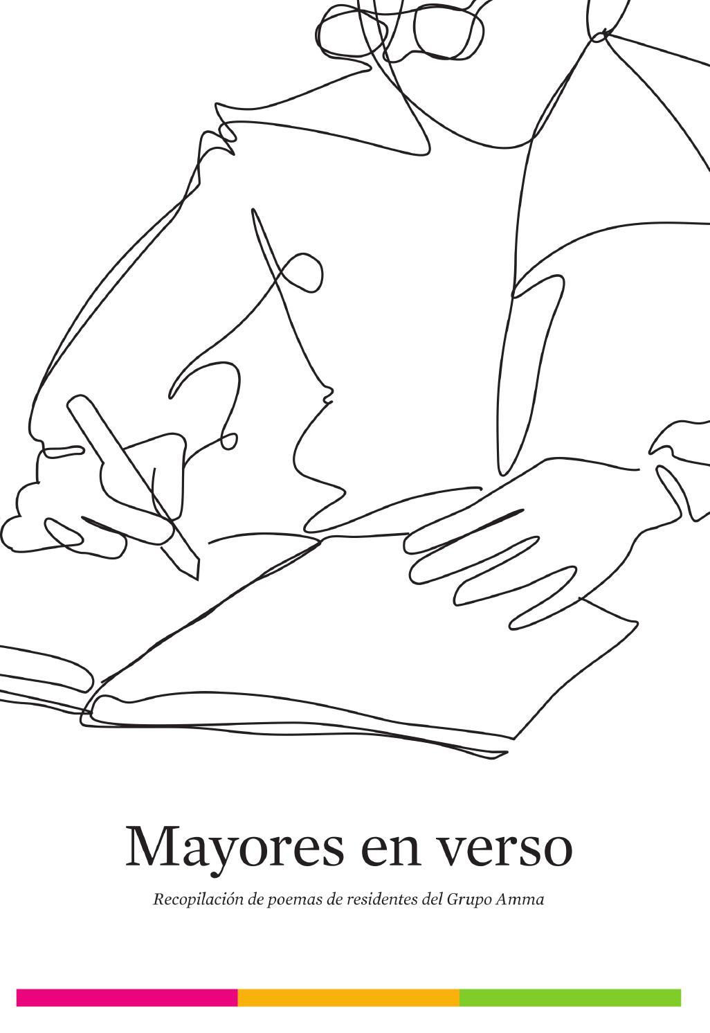 Mayores en verso: recopilación de poemas de residentes del Grupo ...