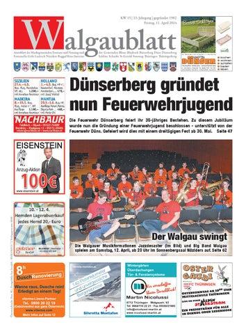 Walgaublatt 16 by Regionalzeitungs GmbH issuu