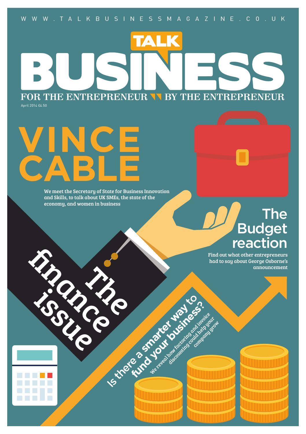 talk business magazine april 2014 by talk business issuu
