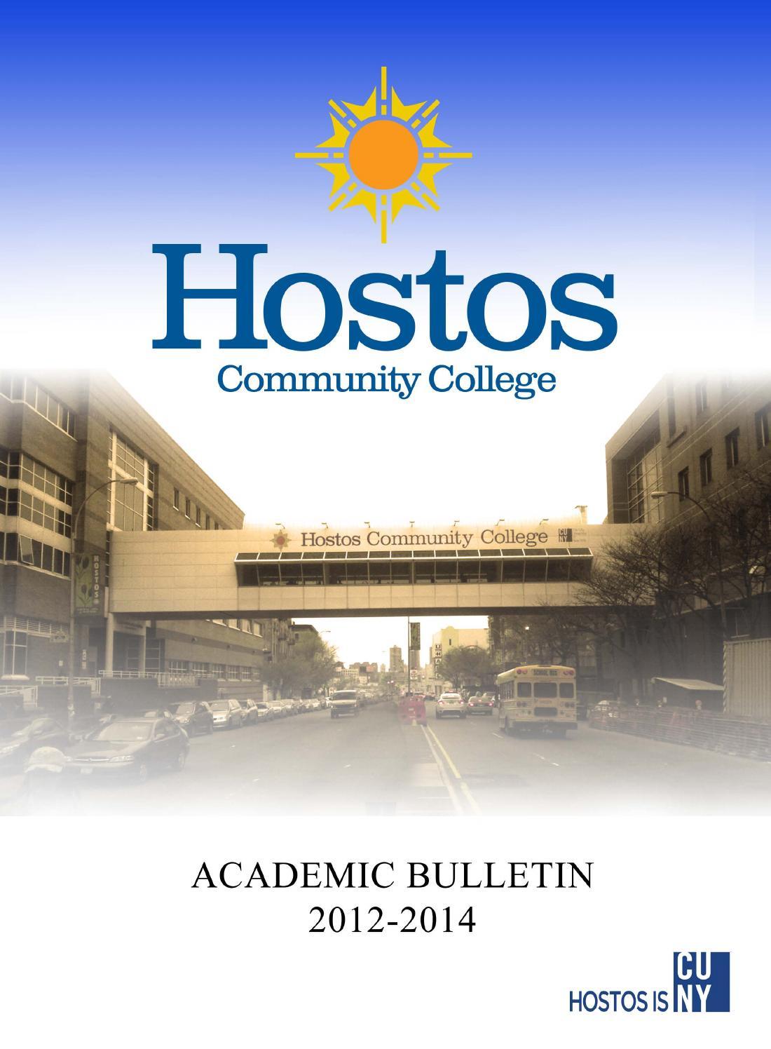 2012 2014 Hostos Catalog By Hostos Community College Issuu