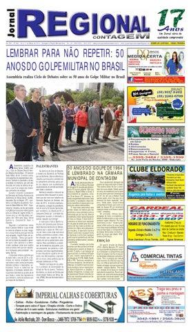 Ano XVII - Nº 246 - 04 a 11 de Março de 2014 - Contagem e Região  Metropolitana - Tel.  (31) 3042-0034   3041-5473 -  www.jornalregionaldecontagem.com.br ... 7505e0eb668ab