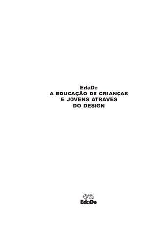 ac807d77ed5 Edade a educação de crianças e jovens através do design fontoura ...