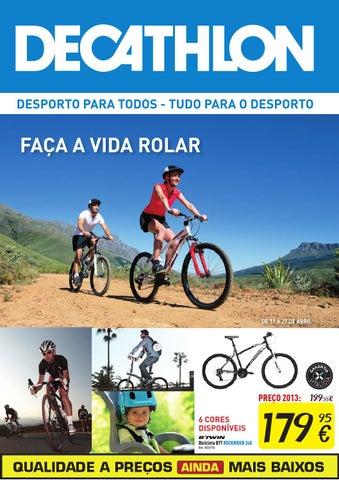 fac147fe6 Decathlon folheto ciclismo by Decathlon Portugal - issuu