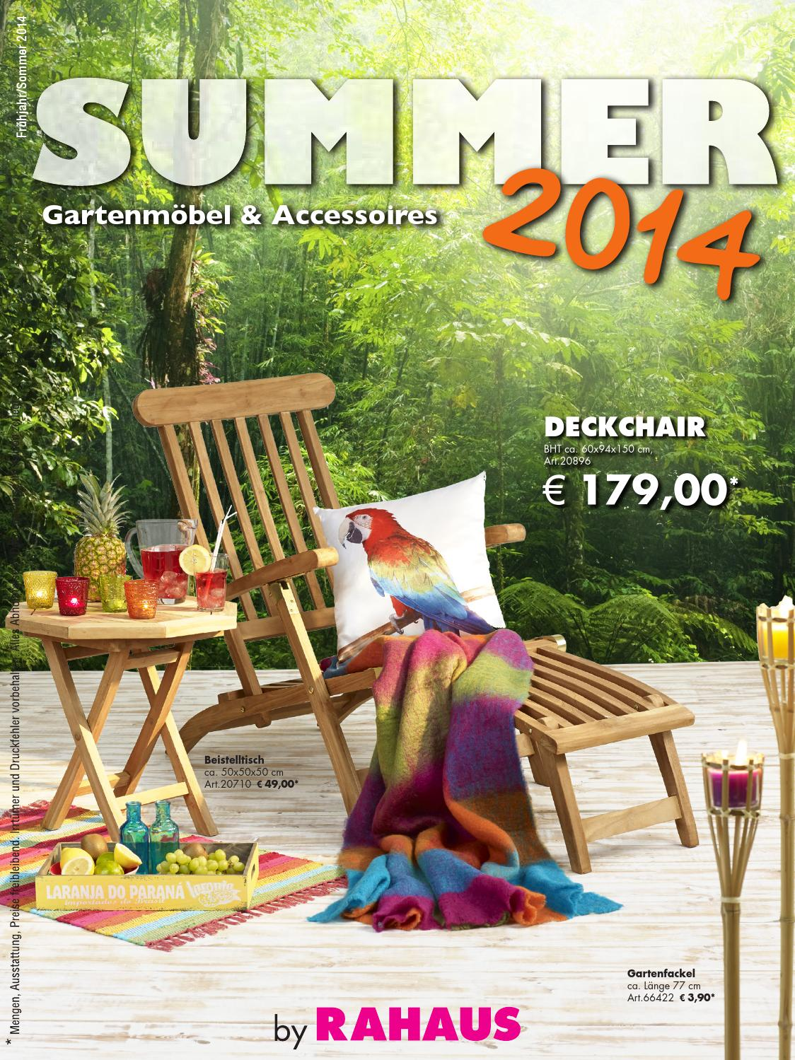 Möbel rahaus summer prospekt 2014 04 10 by catalogofree - issuu