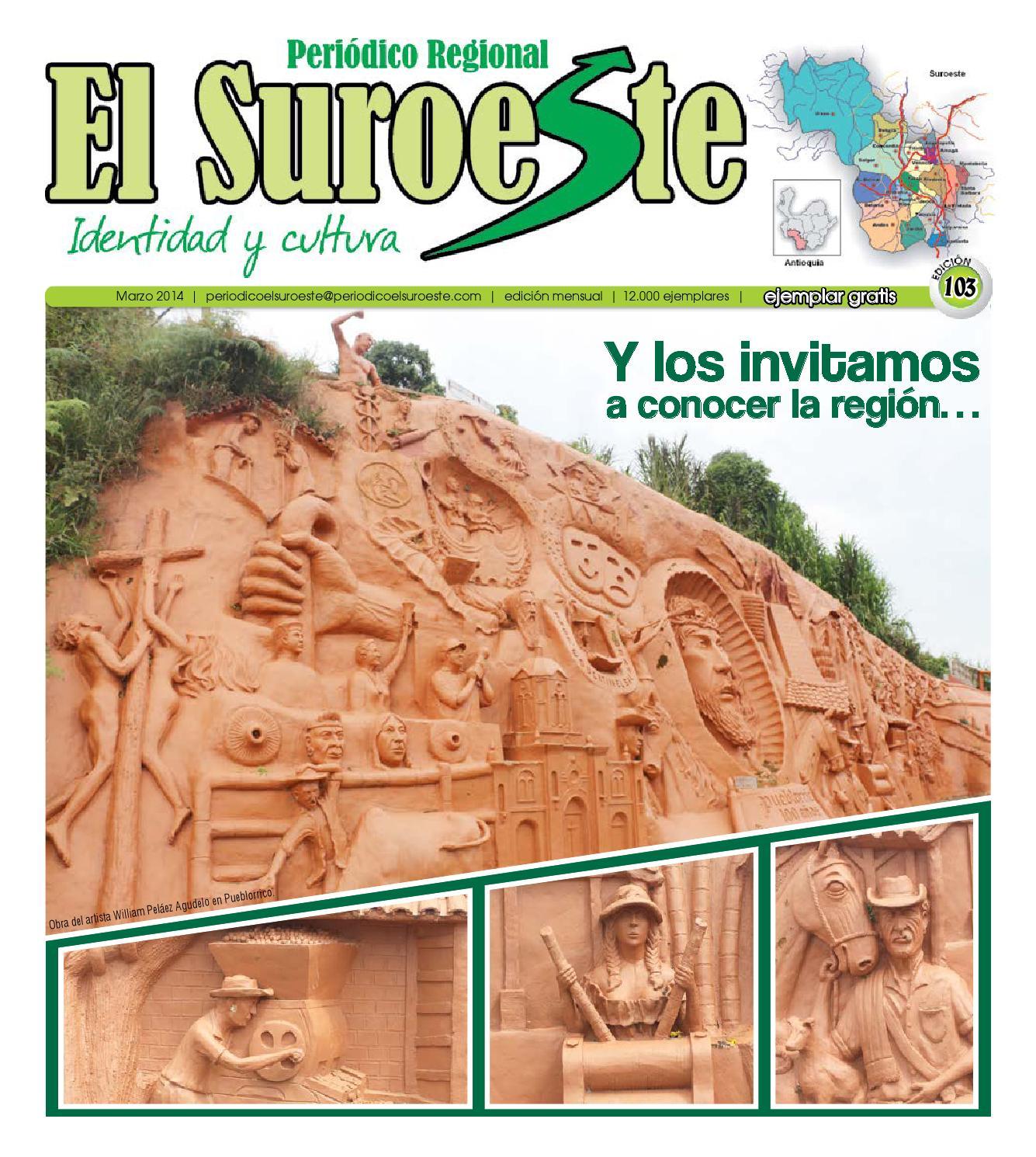 Periódico El Suroeste Edición 103 marzo 2014 by Periódico EL ...