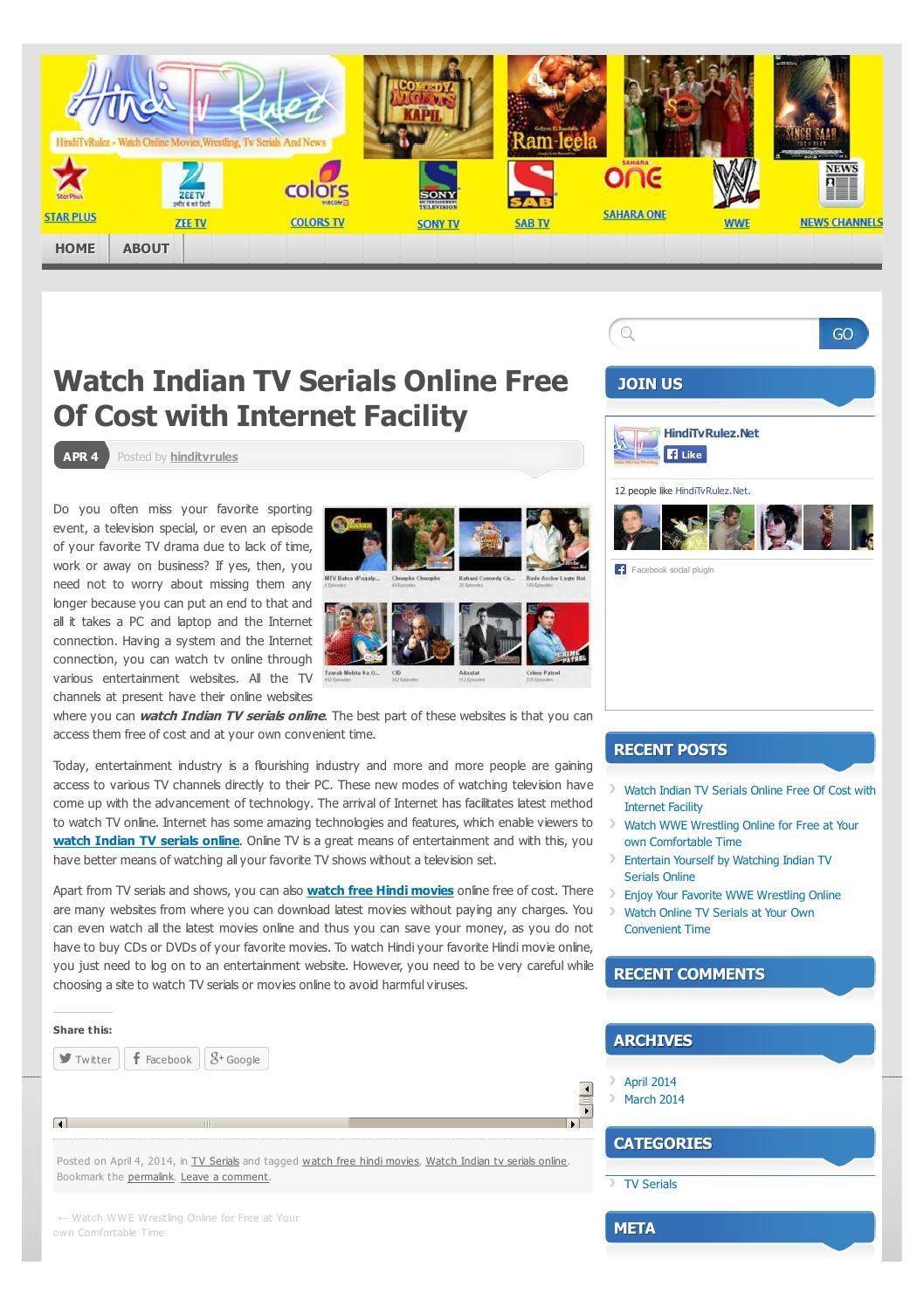 Hindi TV Channels | Hindi TV Online | Hindi News Live
