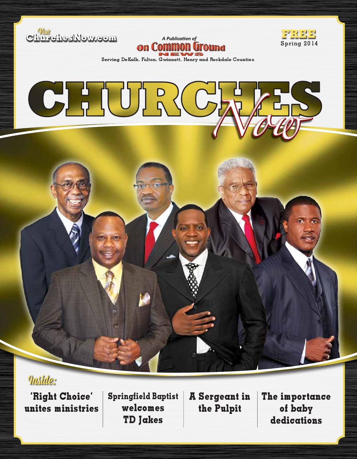 Churches Now-Spring 2014