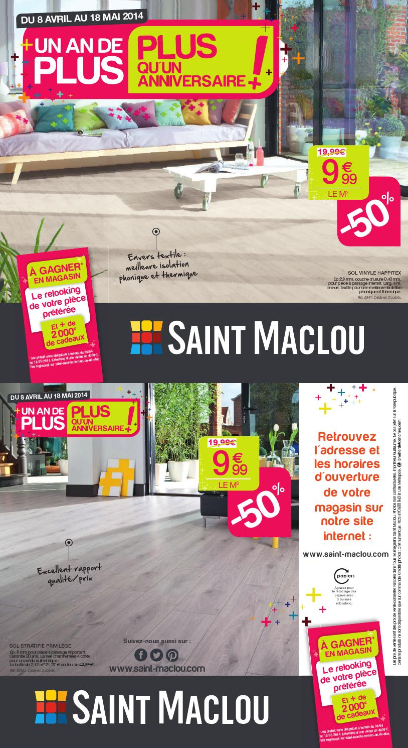 Dalles Clipsables Saint Maclou catalogue saint maclou - 8.04-18.05.2014joe monroe - issuu