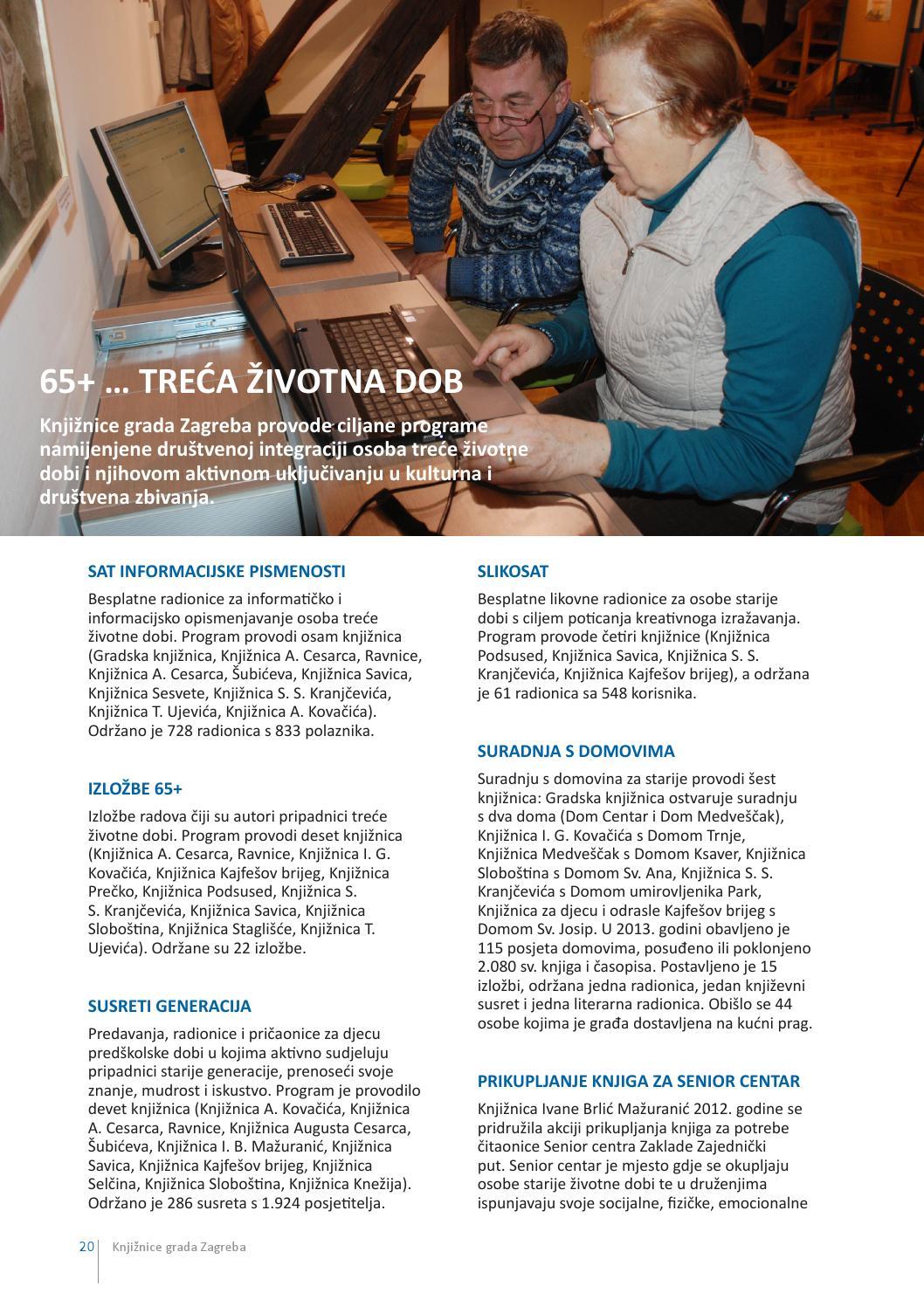 Izvjestaj O Radu Knjiznica Grada Zagreba Za 2013 Godinu By