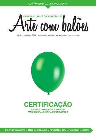 CARTA AO lEITOR Você está folheando a primeira edição da revista Arte com  Balões b55beba03bbe0