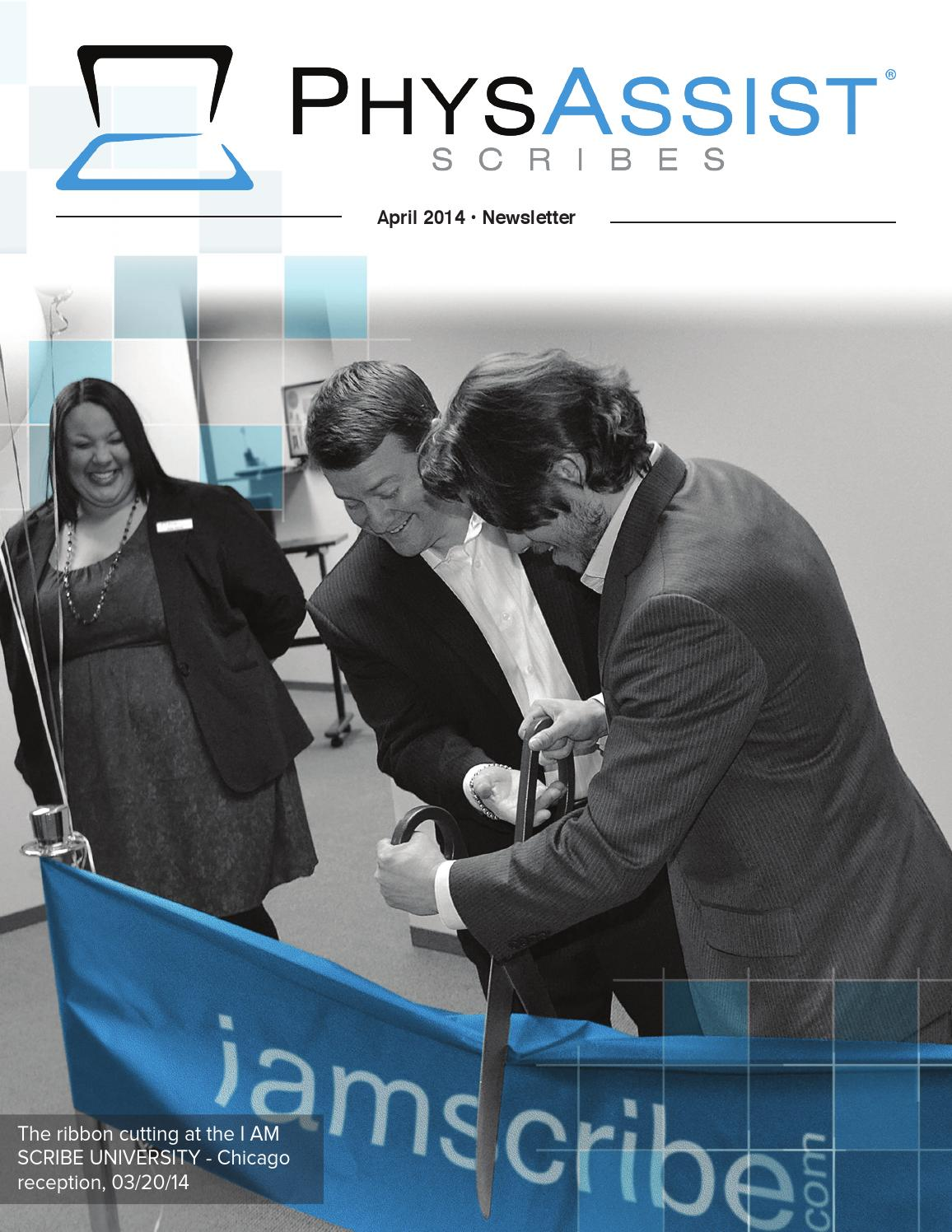 PhysAssist April Newsletter by PhysAssist Scribes - issuu