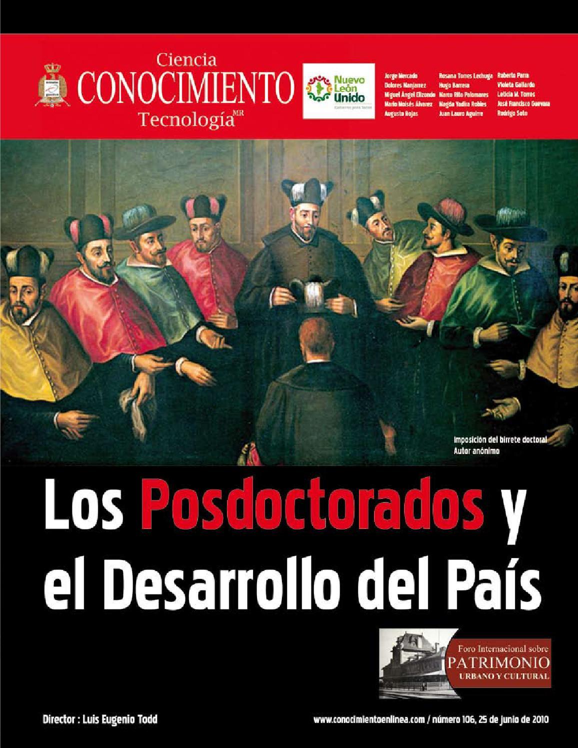 Revista Conocimiento 106 by Rodrigo Soto Moreno - issuu