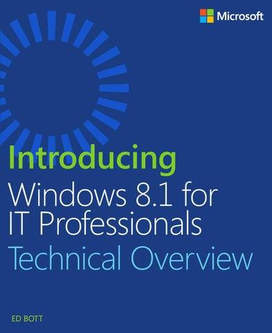 Introducing windows itpro pdf by Hofman Ortiz - issuu