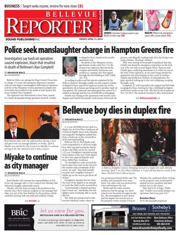 Bellevue Reporter April 11 2014 By Sound Publishing Issuu
