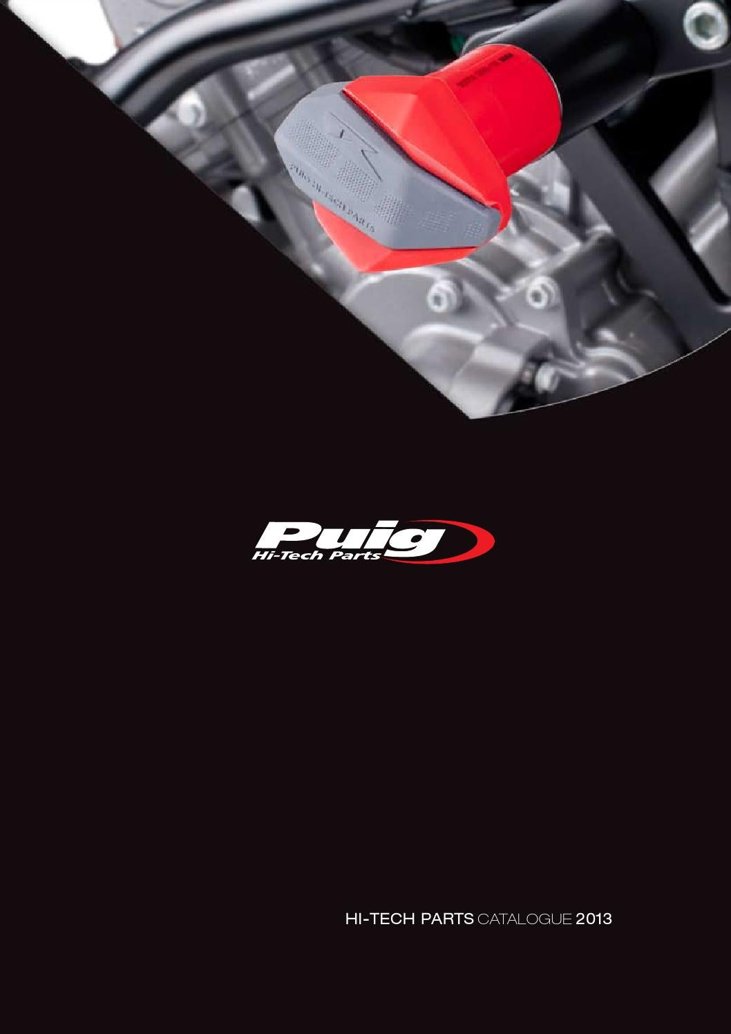 Prolongateur de Garde Boue avant pour Honda Deauville NT 700 V 06-12 noir Puig 5801n