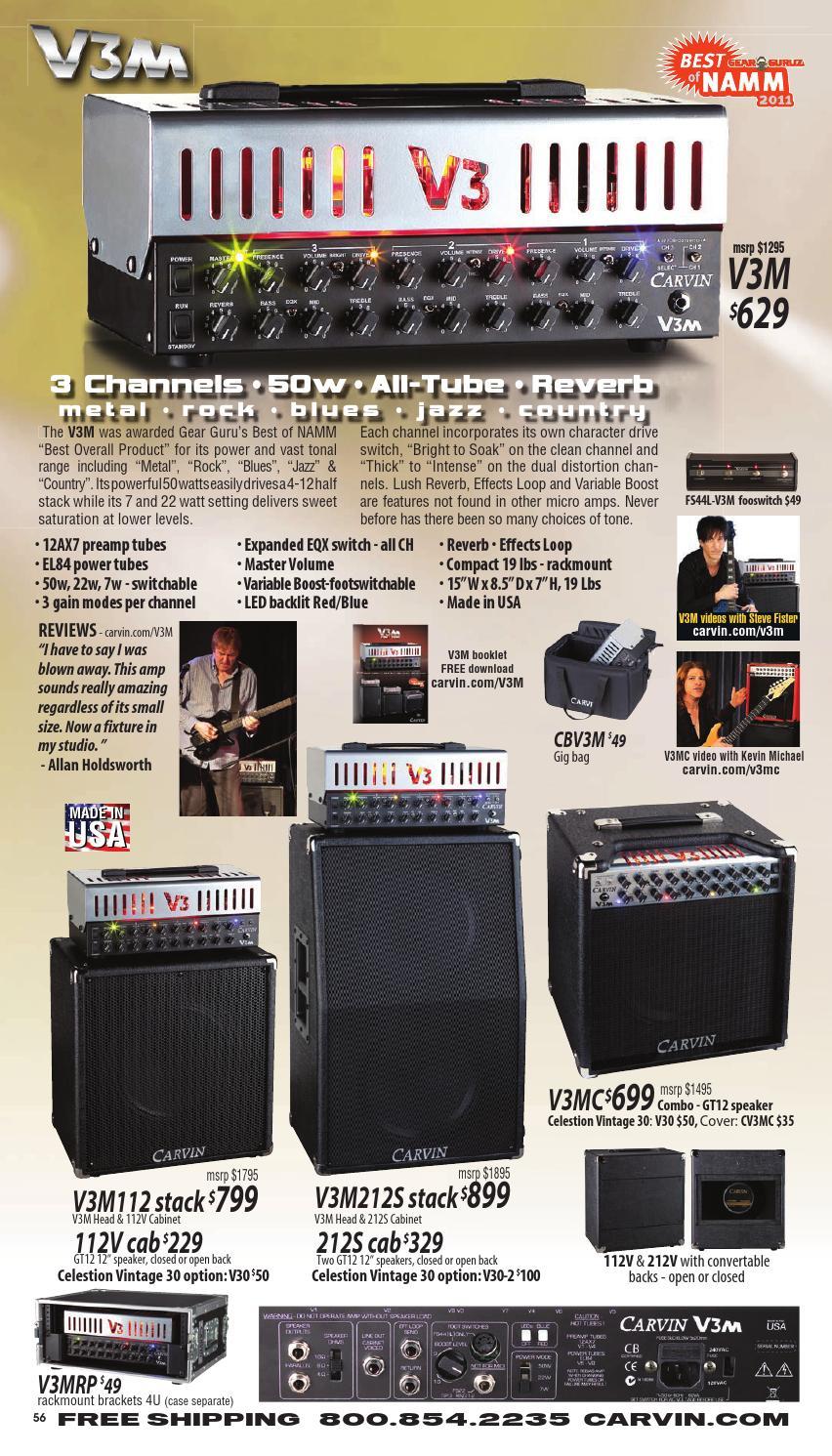 Carvin Sx300 Guitar Amp Schematics Amps Catalog Alex Lopez Issuu 852x1491