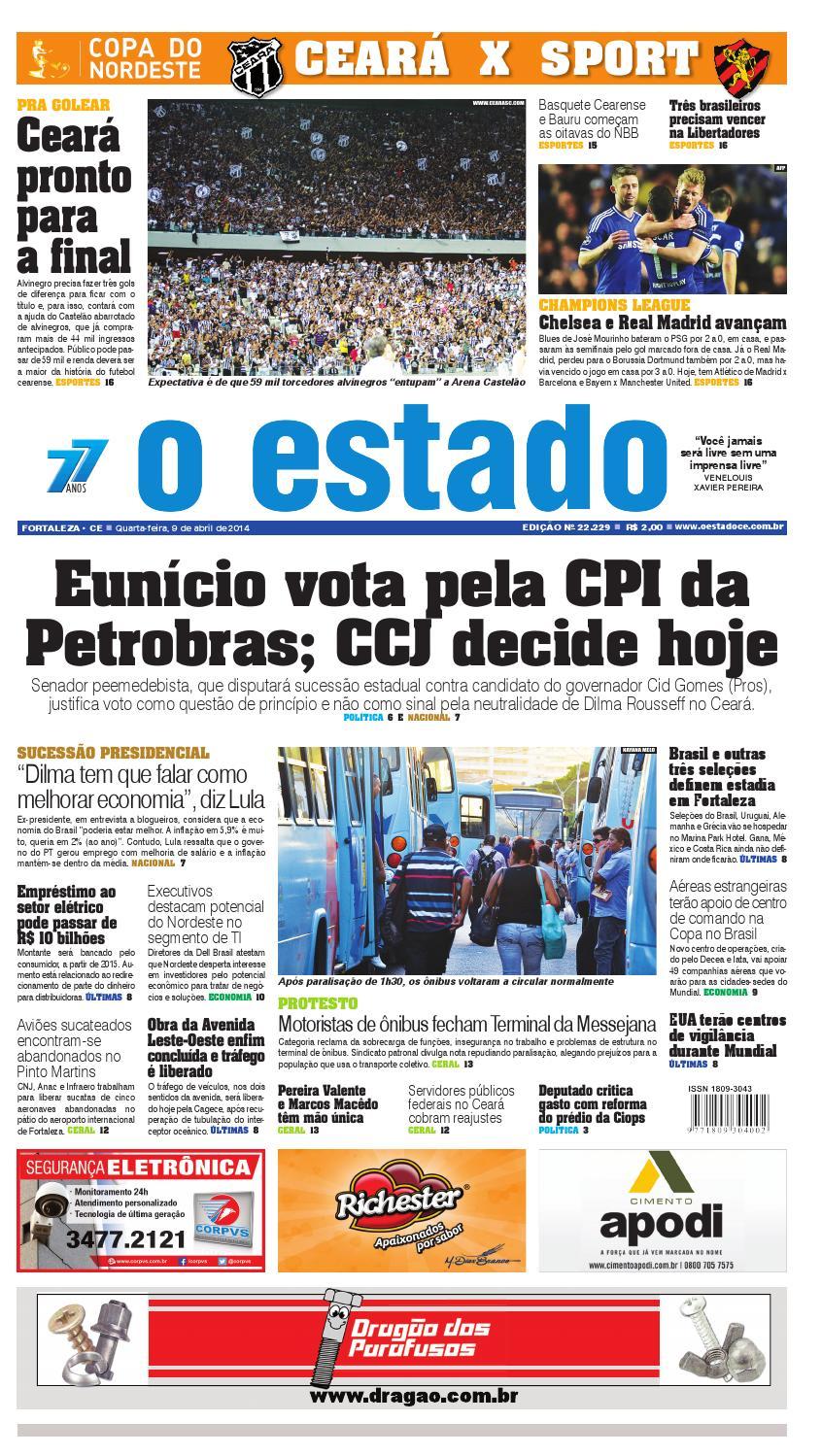 b521804873 Edição 9 de abril de 2014 by Jornal O Estado (Ceará) - issuu