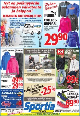 Sportia-Pekan viikonlopun ilmoitus 11. - 13.4.2014 431a5c45ac