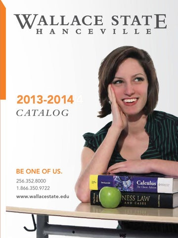 Wallace state 2013 2014 catalog by wallace state community college page 1 fandeluxe Images