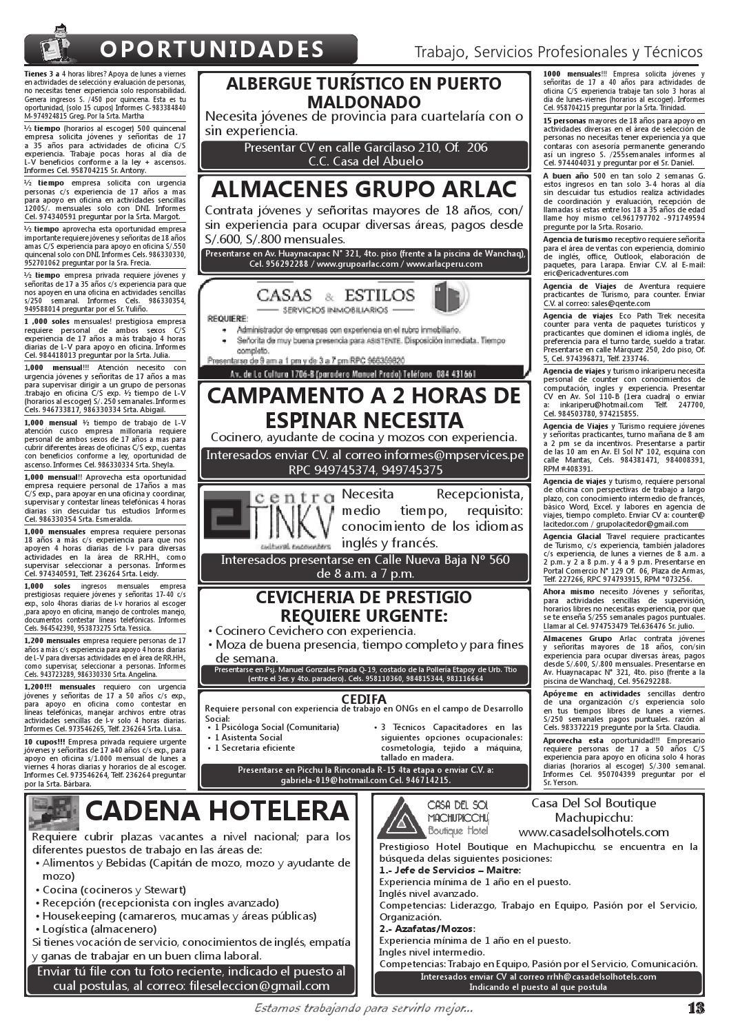 Revista Rueda De Negocios Ed 1556 By Iweb Cusco Issuu