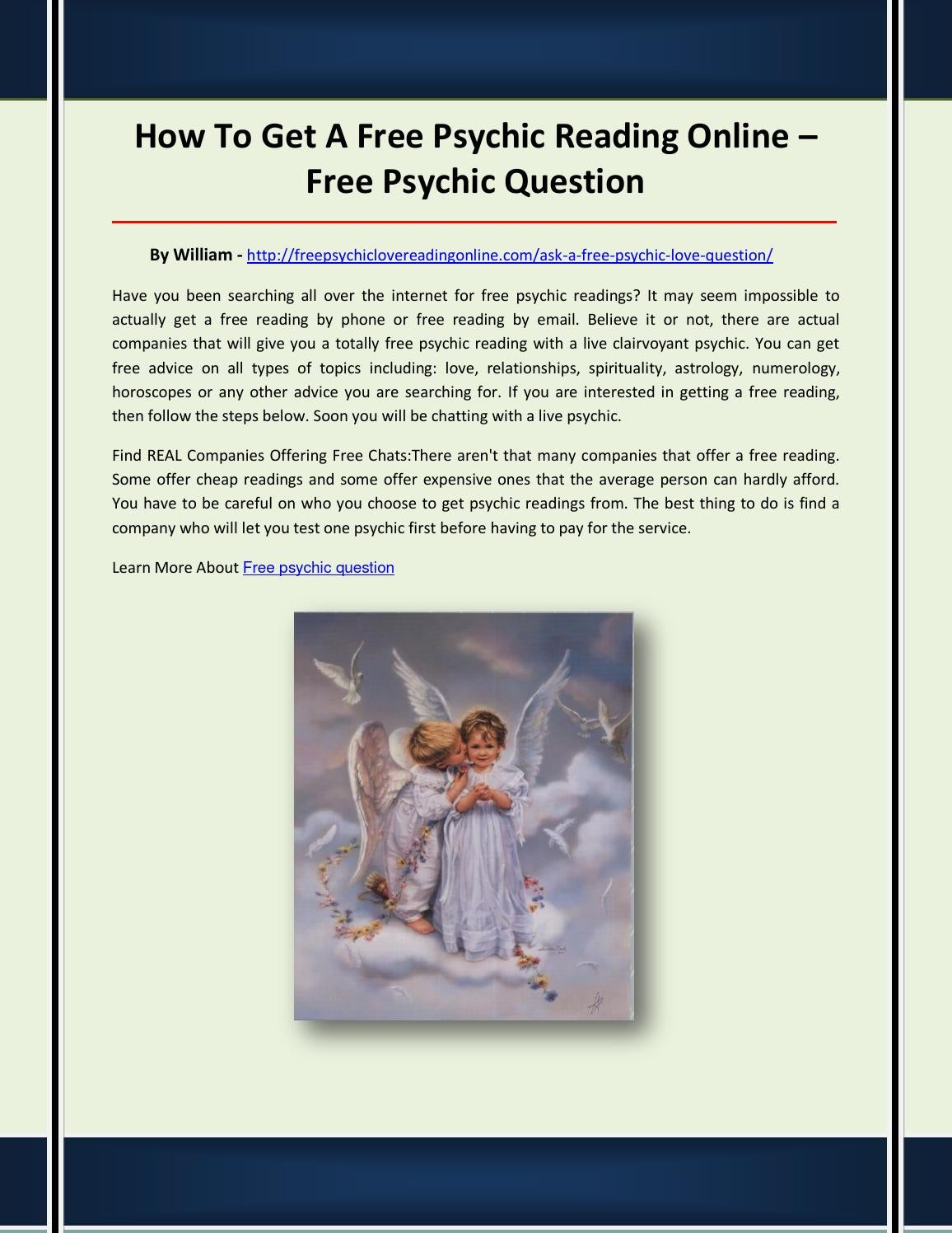 Free psychic question by fsdfeij - issuu