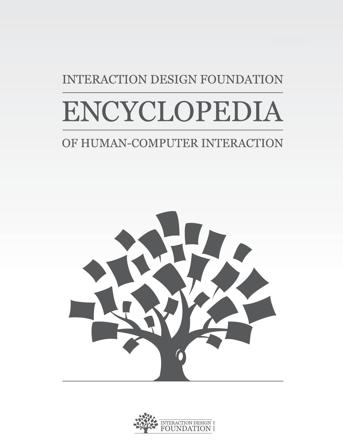 Ch1 The Encyclopedia Of Human Computer Interaction By Louisville Center For Design At Lindsey