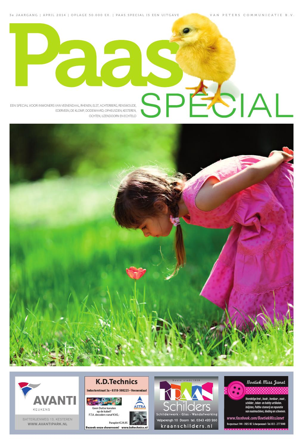 paasspecial april 2014 online by peters municatie issuu