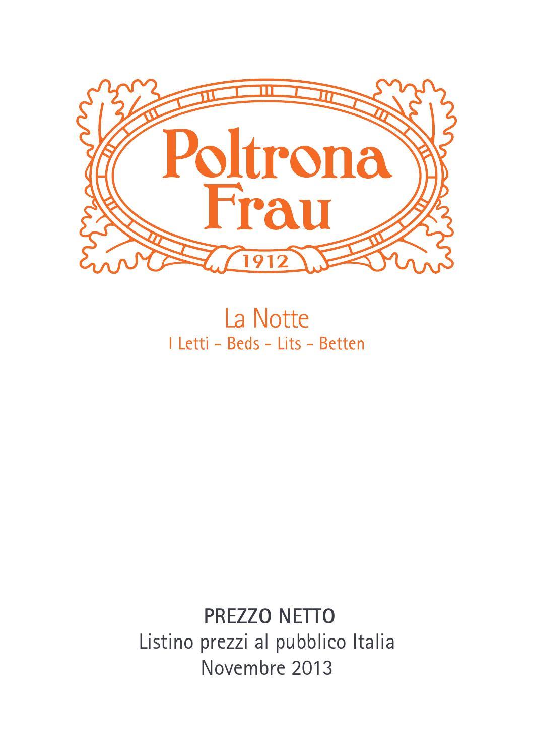 Letto Bluemoon Poltrona Frau Prezzo.Listino Letti Itanovembre2013 By Carlo Oliverio Issuu