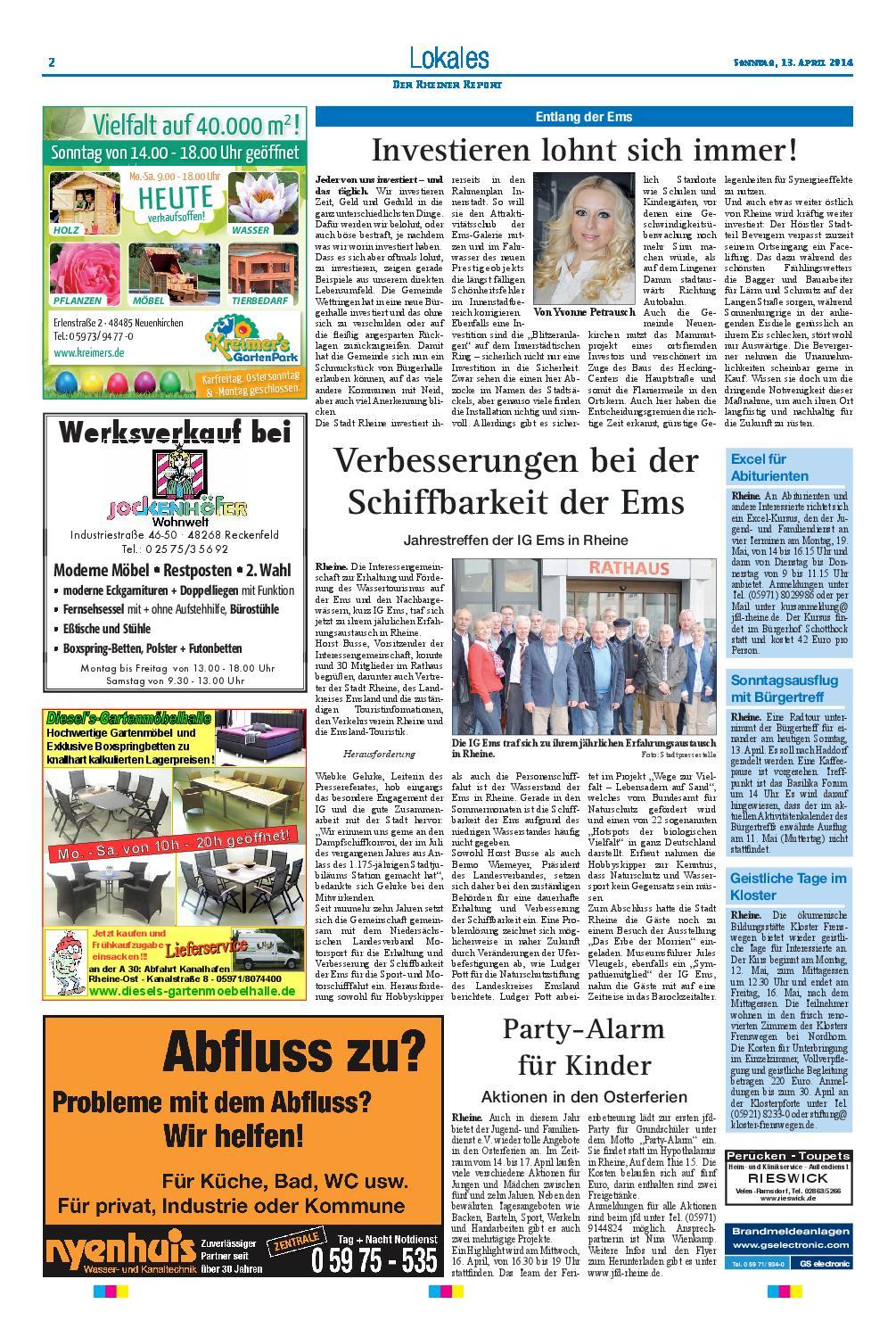 Kw15 2014 By Rheiner Report Gmbh Issuu