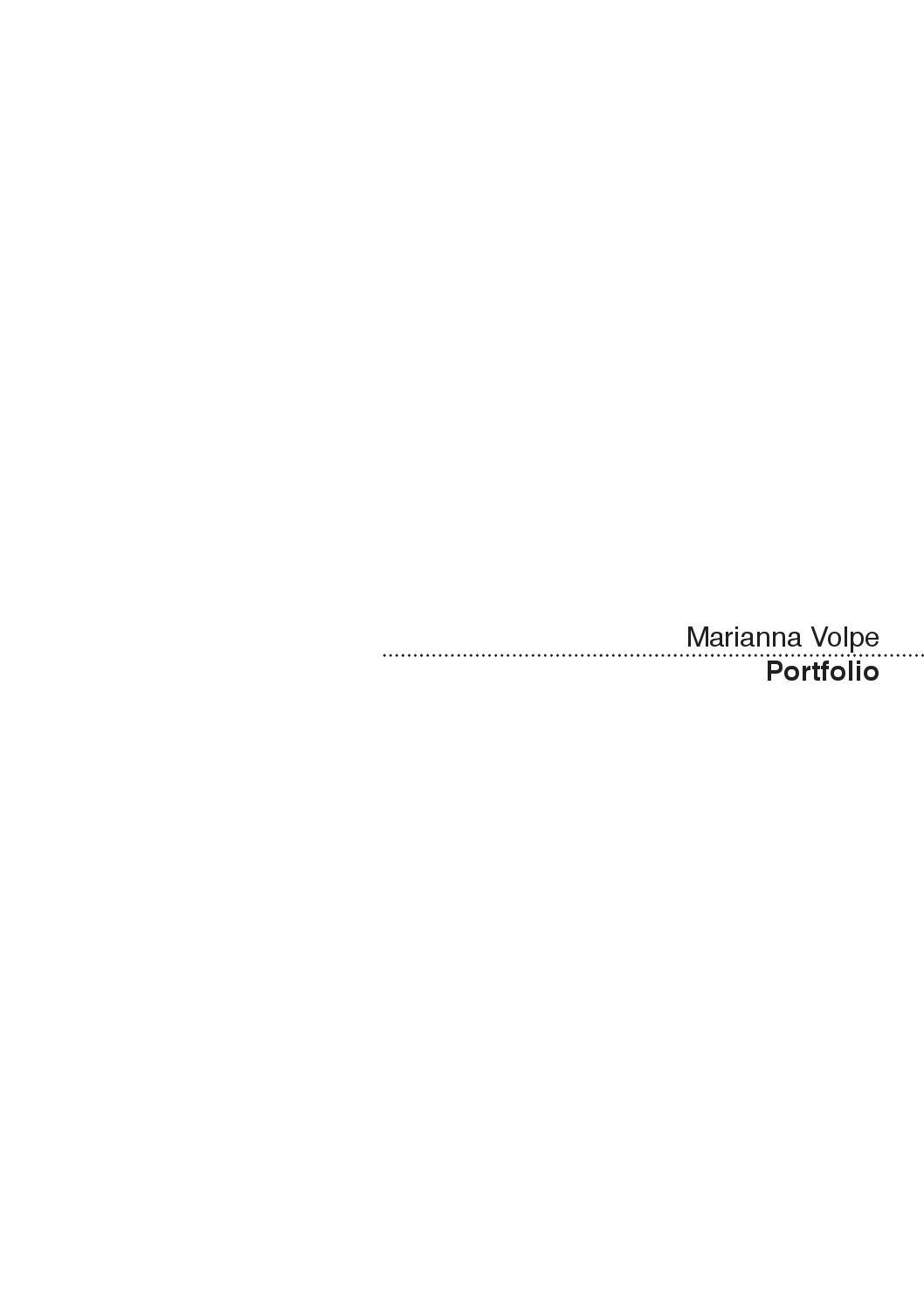 marianna volpe portfolio fran u00e7ais by marianna volpe