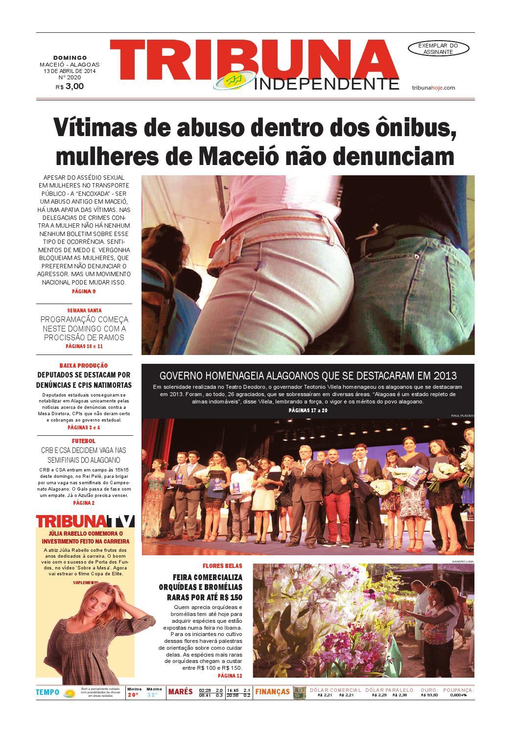 56e2a08ade7c9 Edição número 2020 - 13 de abril de 2014 by Tribuna Hoje - issuu