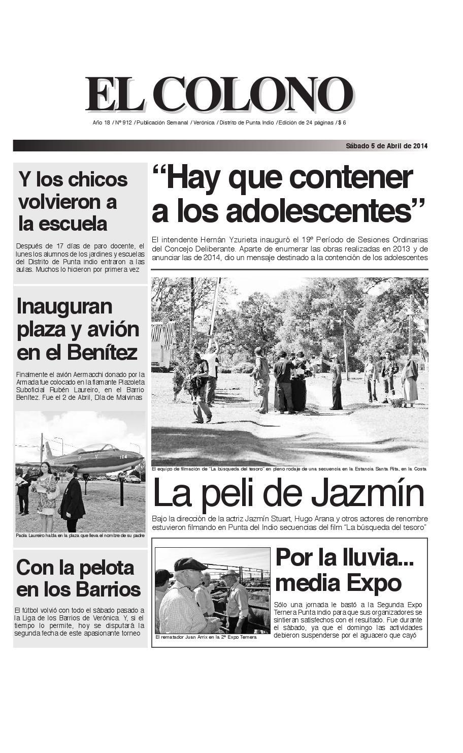 el-colono-5-04-14-de-24_el-colono-25-7-09-en-24 by El Colono de ...