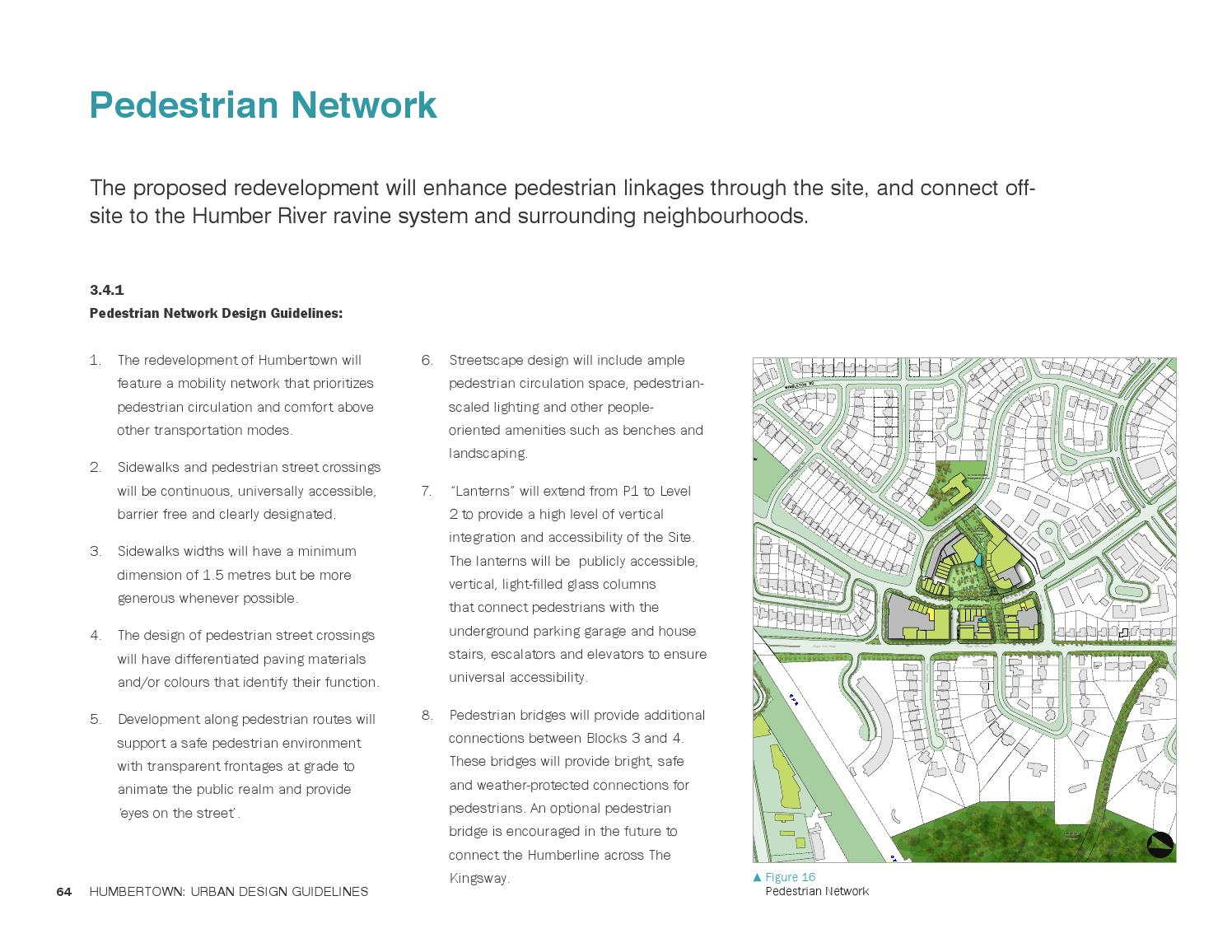 Humbertown Master Plan Urban Design Guidelines By Urban Strategies