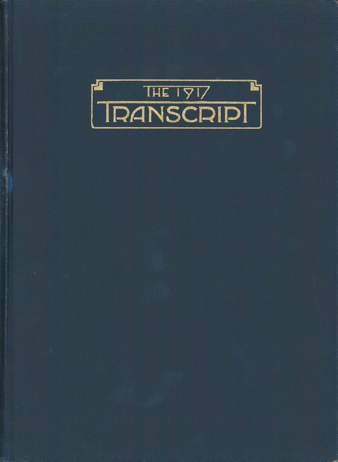 32a0ab03c359 The Transcript - 1917 by Chicago-Kent College of Law - issuu