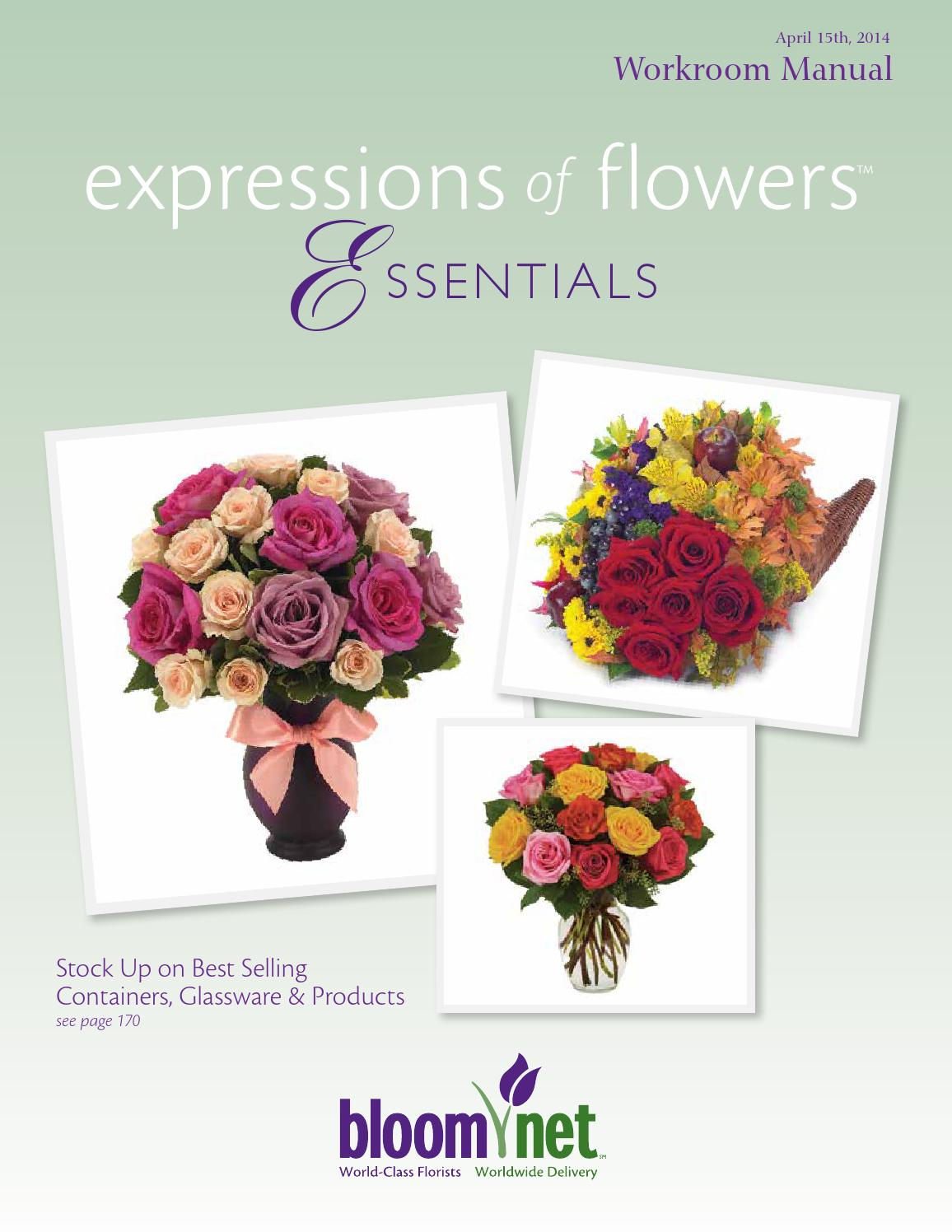 21 expressions of flowers essentials workroom manual 21 21 121 by ...