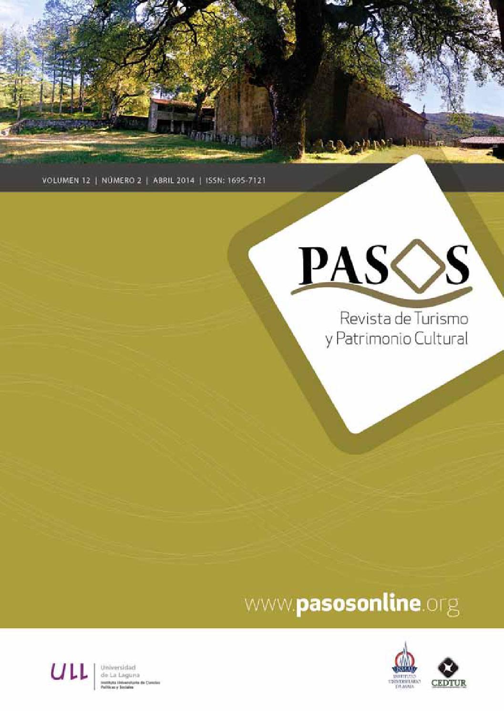 PASOS 12(2) 2014 by PASOS Revista de Turismo y Patrimonio Cultural - issuu