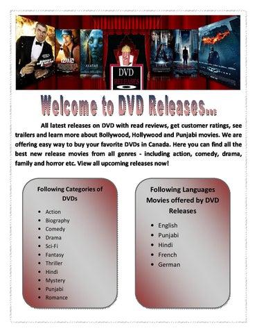 Online DVD Store by MariaThomson - issuu