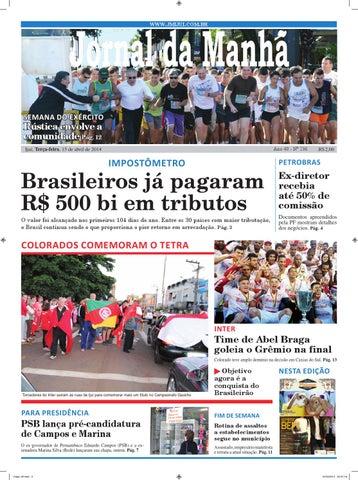 41250ba7d7 Jornaldamanhã 15 04 2014 by Classificados Jornal da Manhã - issuu