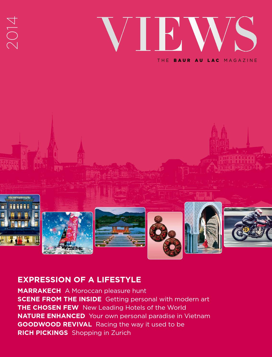 Views Magazine by Baur au Lac - issuu