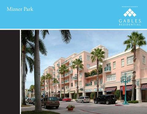 Mizner Park Apartments Ebrochure By Gables Residential Issuu