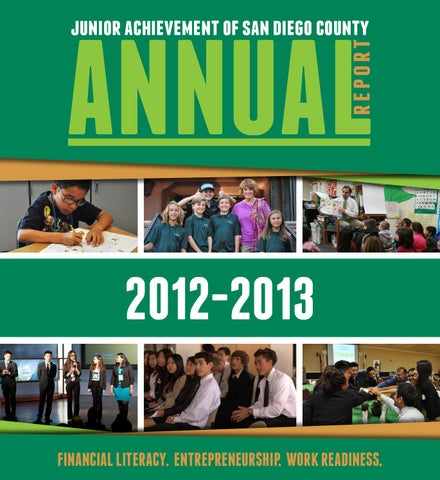 junior achievement annual report by david bing issuu annual report